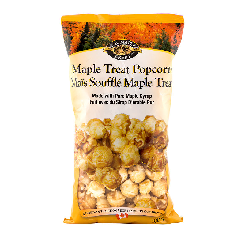 L.B. Maple Treat Popcorn - 100g