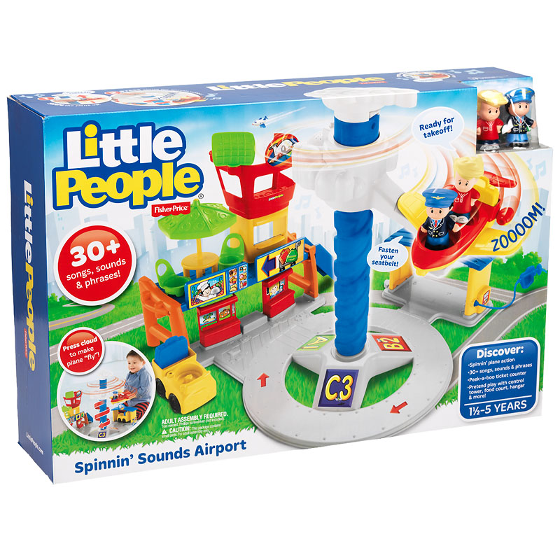 Fisher Price Little People - Spinnin' Sounds Airport