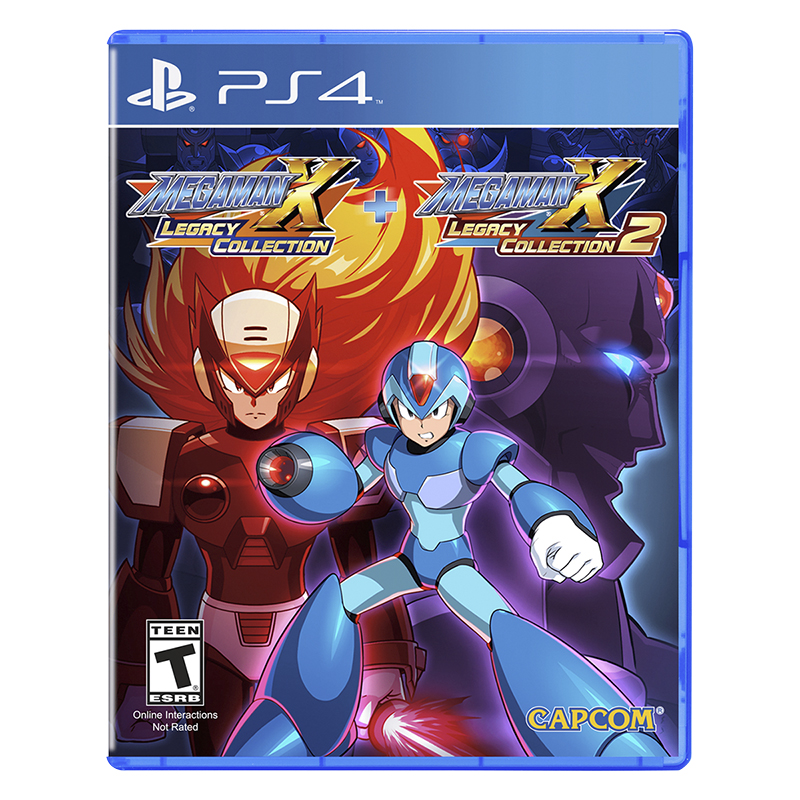 PRE ORDER: PS4 Mega Man X Legacy Collection 1 + 2