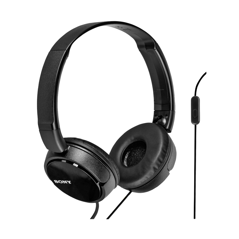 Sony ZX Overhead Headphone - Black - MDRZX310AP