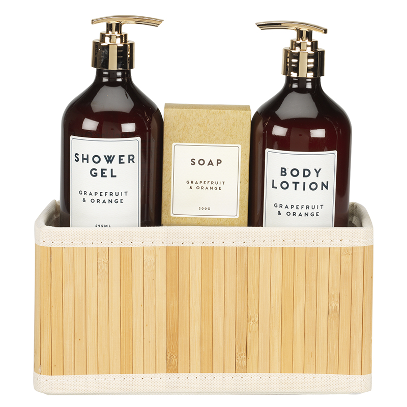 Apothecary Body Gift Set - Grapefruit & Orange - 3 piece