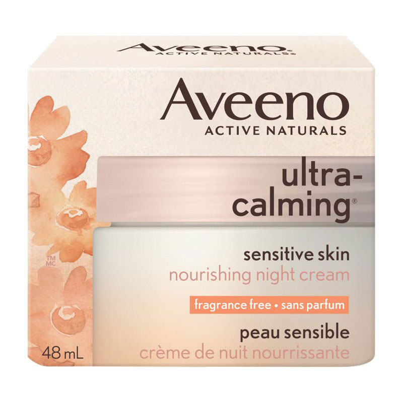 Aveeno Ultra Calming Night Cream - 48ml