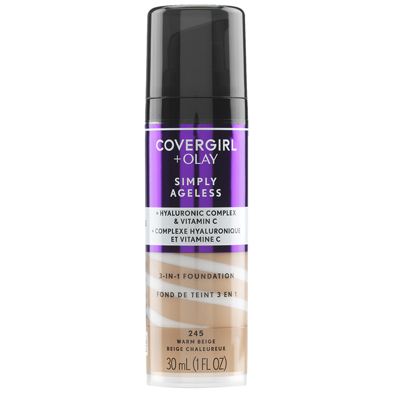CoverGirl & Olay Simply Ageless 3-in-1 Liquid Foundation - Warm Beige