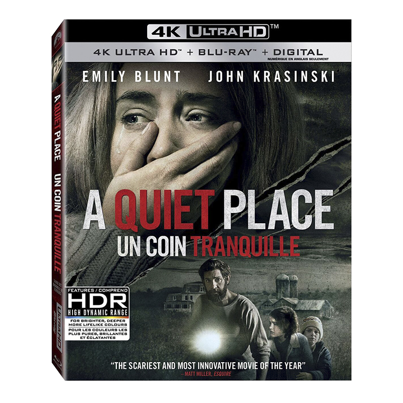 A Quiet Place - 4K UHD Blu-ray