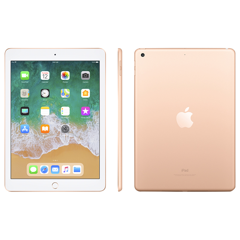 Apple iPad WiFi (2018) - 128GB - Gold - MRJP2CL/A