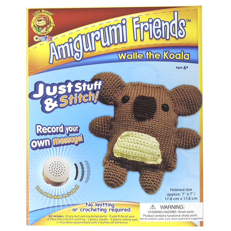 Amigurumi Friends Stuff & Stitch Kit - Walle the Koala