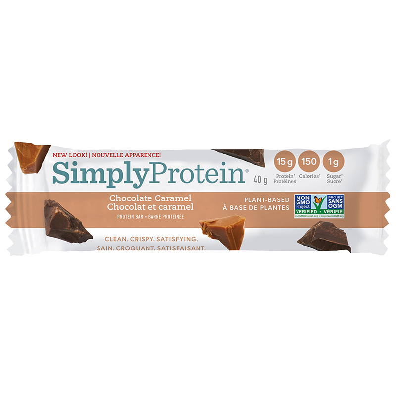 SimplyProtein Bar - Chocolate Caramel - 40g