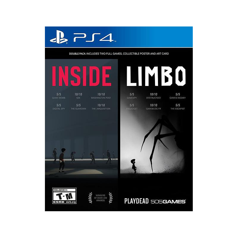 PS4 Inside and Limbo 2 Pack