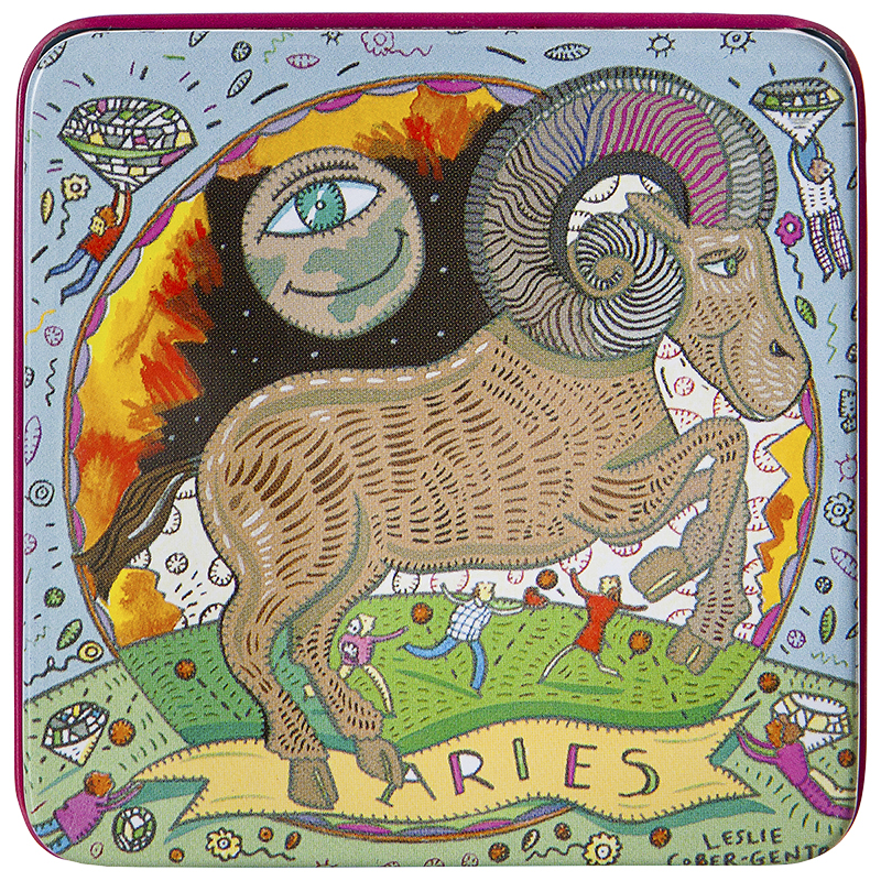 Zodiac Soap in Tin - Aries -100g