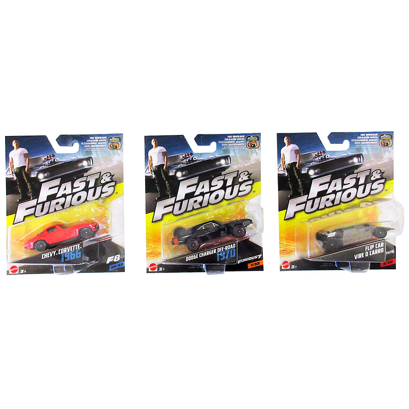 Fast Furious 1.55 Diecast - Assorted