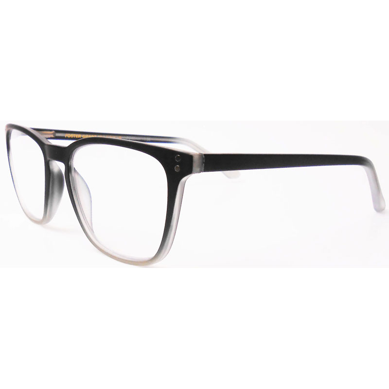 Foster Grant Camden Reading Glasses - Black - 2.50