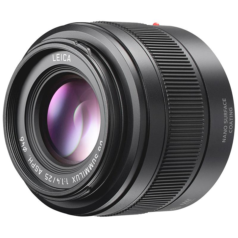 Panasonic Leica Dg Summilux 25 Mm F1 4 Lens Black H Xa025 London Drugs