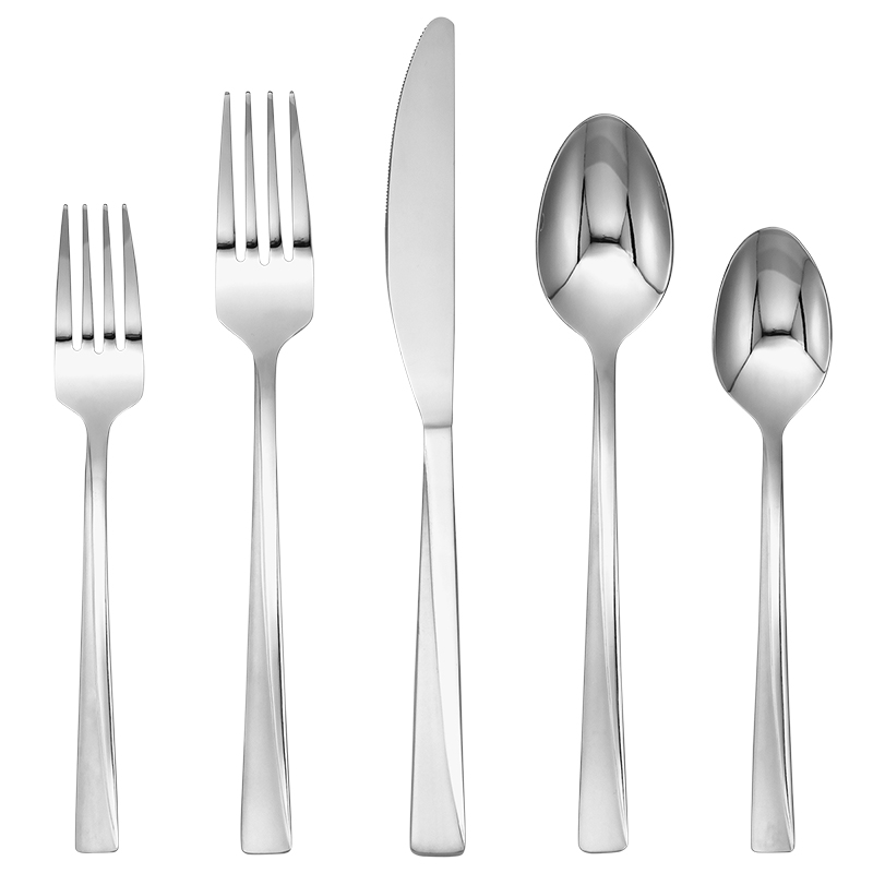 Cambridge Silversmiths Dora Sand 18/0 Flatware Set - 20 piece