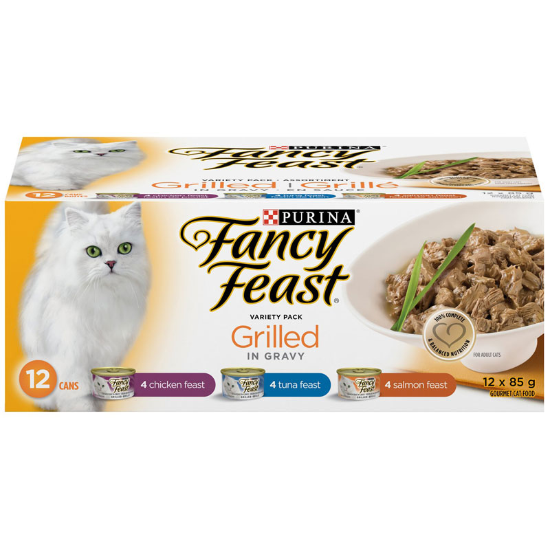 Fancy Feast Grilled Variety Pack - 12x85g