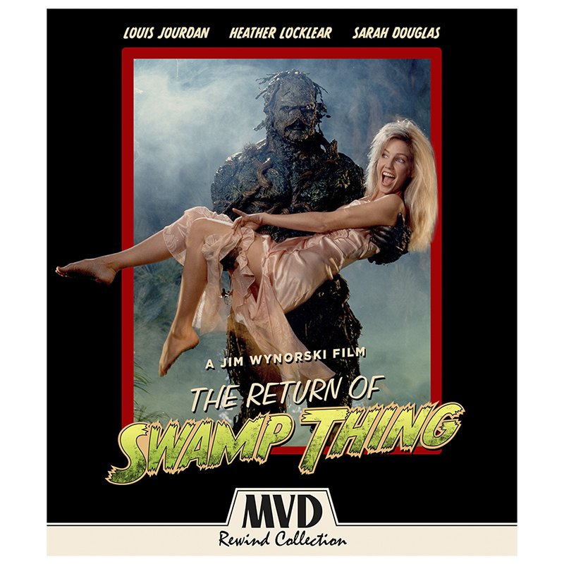 The Return Of Swamp Thing - Blu-ray