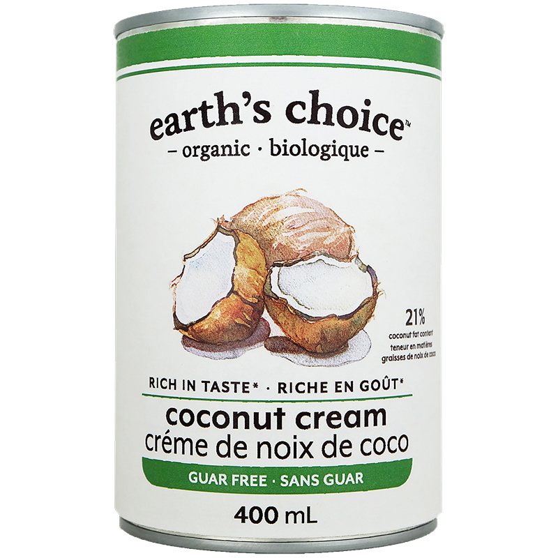 Earth's Choice Organic Coconut Cream - 400ml