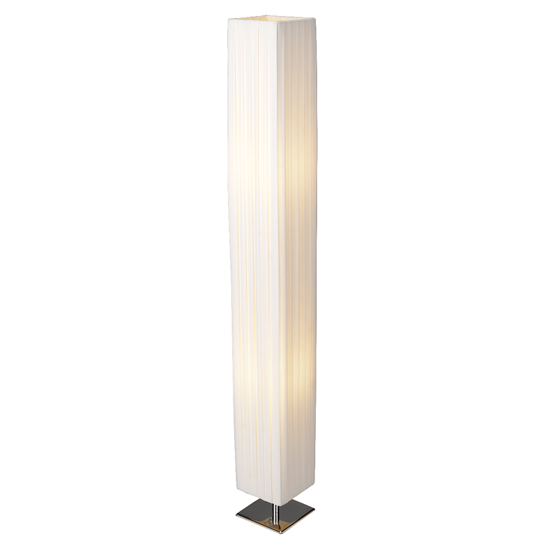 London Drugs Linen/Cotton Floor Lamp - 14 x 14 x 120cm