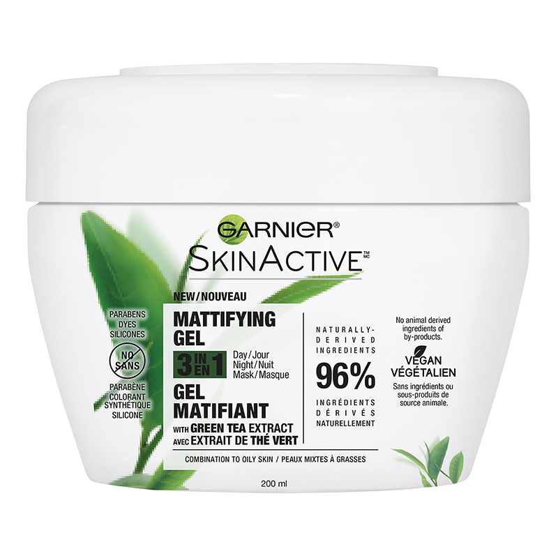 Garnier SkinActive Mattifying Gel 3 in 1 - Combination to Oily Skin - 200ml