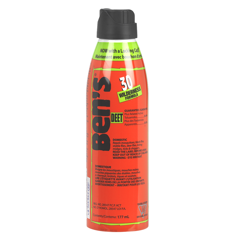 Ben's 30 Tick and Insect Repellant Spray - 177mL
