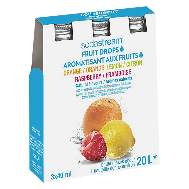 SodaStream Fruit Drops - Variety 3 Pack