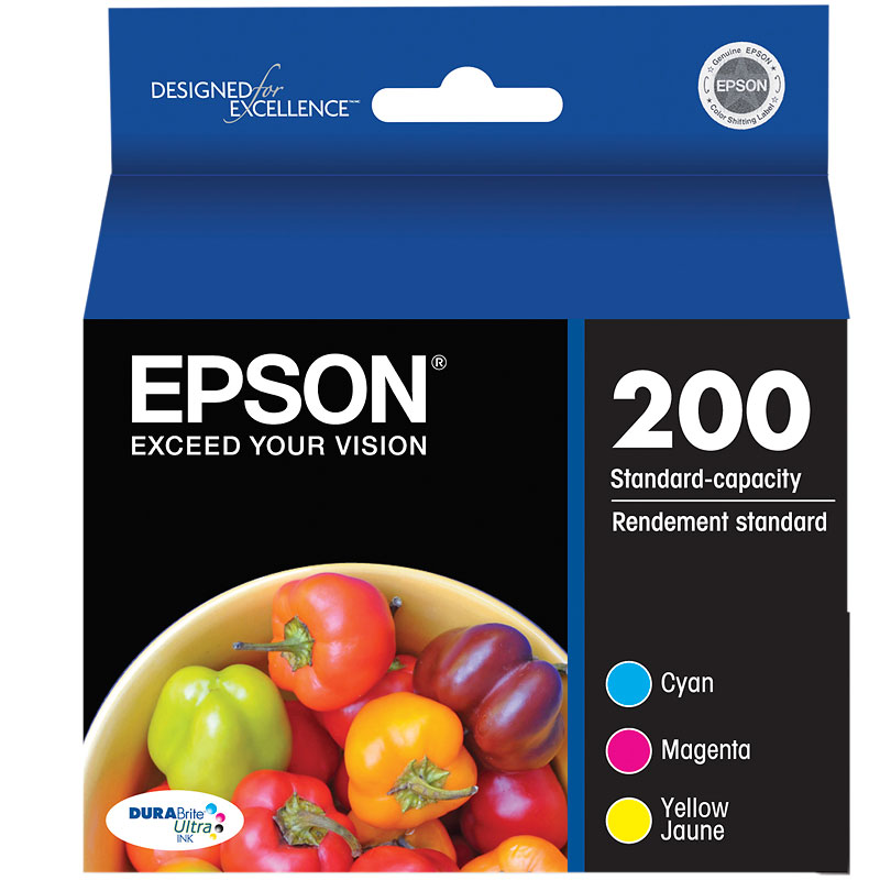Epson 200 DURABrite Ultra Color Ink Catridges - Multipack