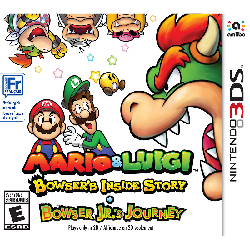 3DS Mario and Luigi - Bowser's Inside Story and Bowser Jr.'s Journey