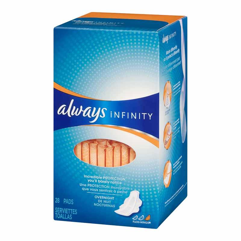 always infinity overnight 28 s jumbo london drugs