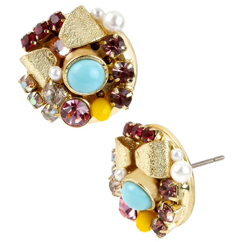 Betsey Johnson Candy Land Earrings