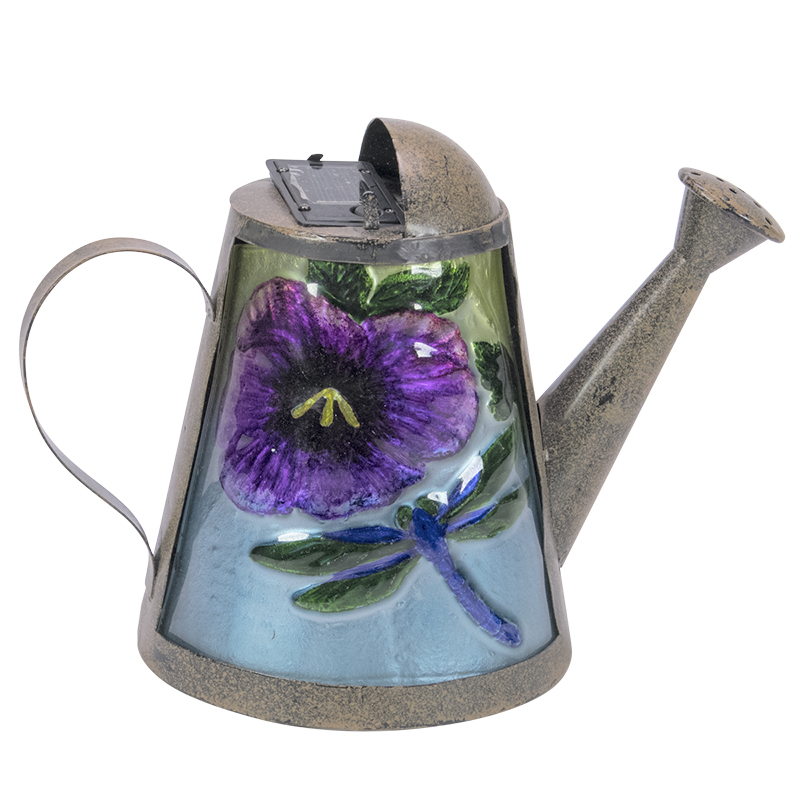 London Drugs Solar Light Watering Can - Dragonfly