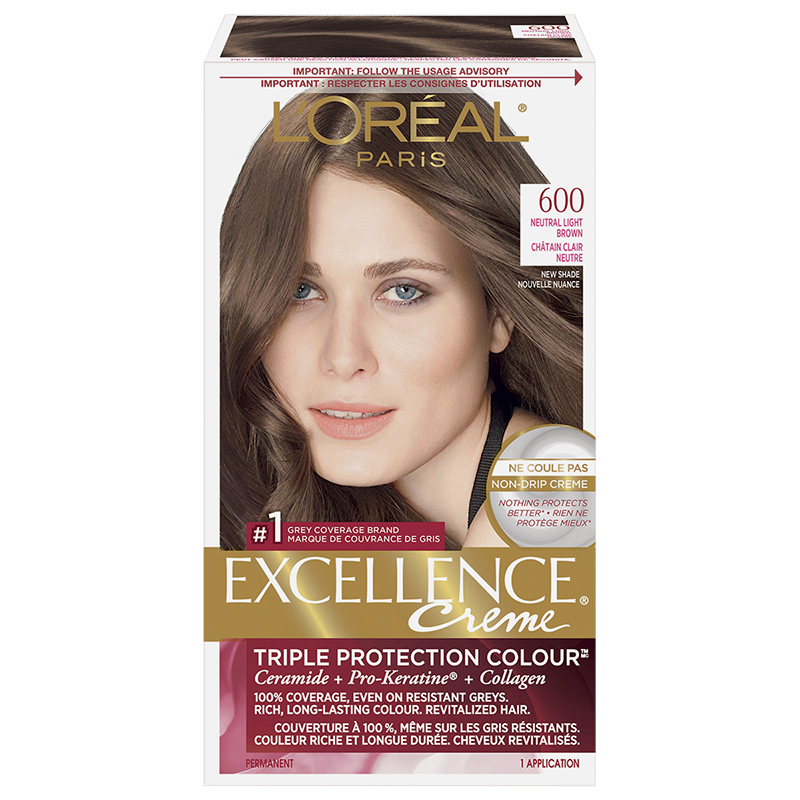 L'Oreal Excellence Creme - 600 Neutral Light Brown