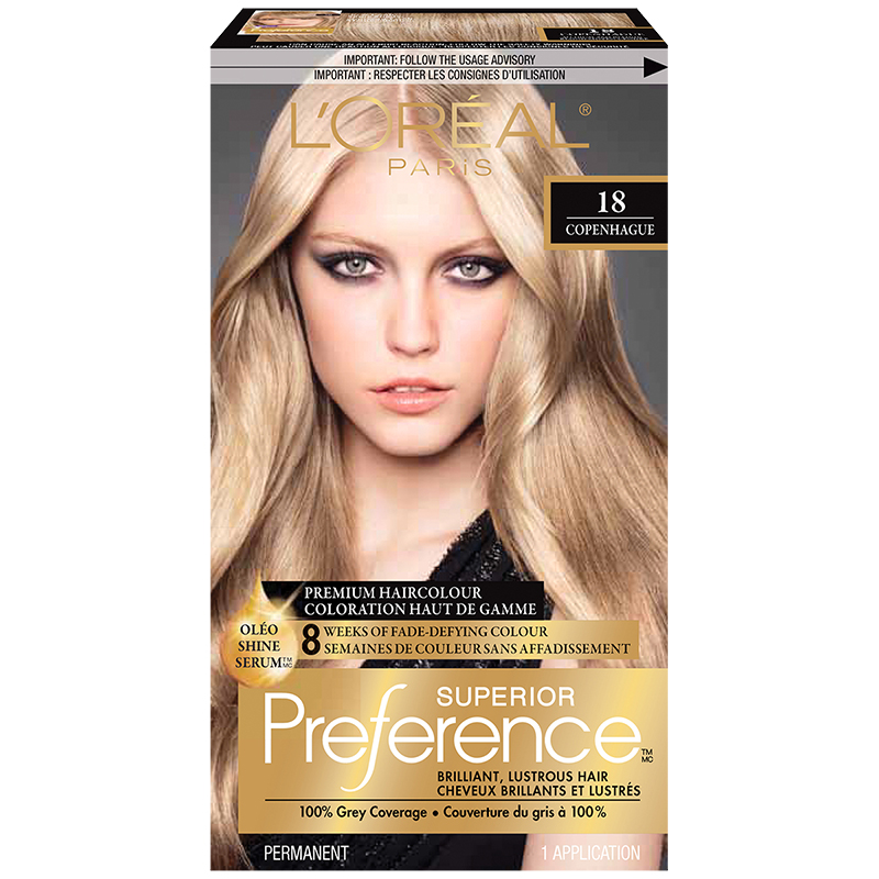 Loreal Superior Preference Fade Defying Colour Shine System 18