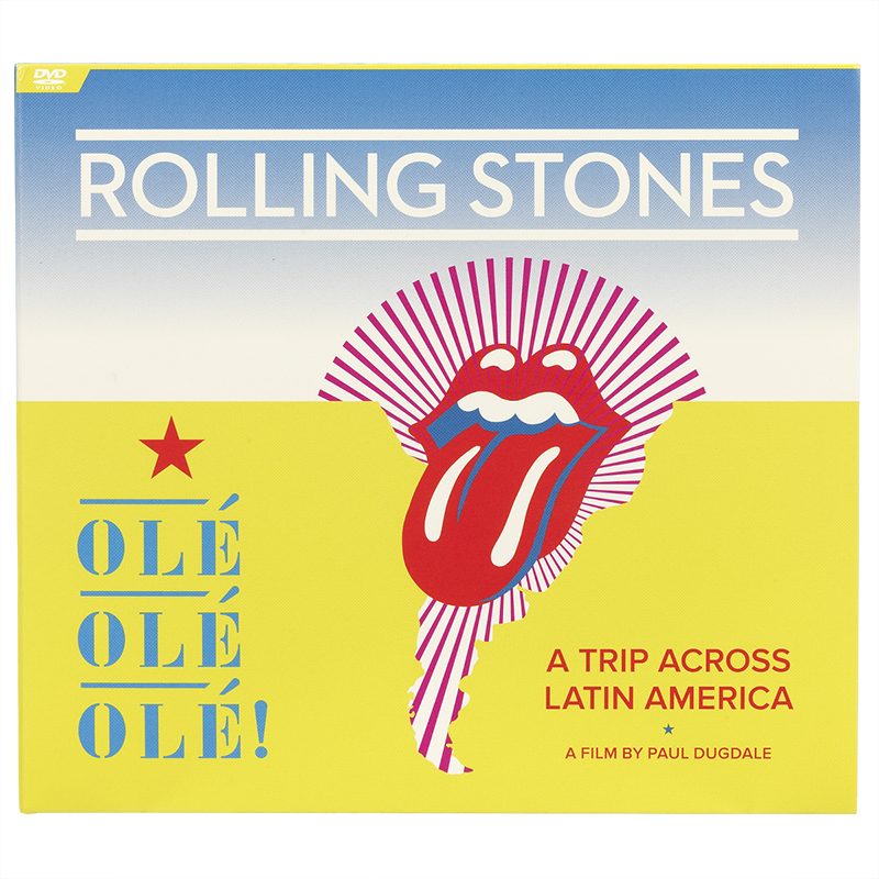 The Rolling Stones Ole Ole Ole: A Trip Across Latin America - DVD