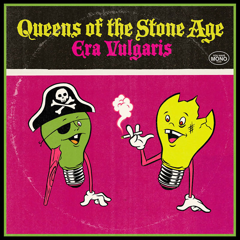Queens of the Stone Age - Era Vulgaris - 10 inch - 3 LP Vinyl