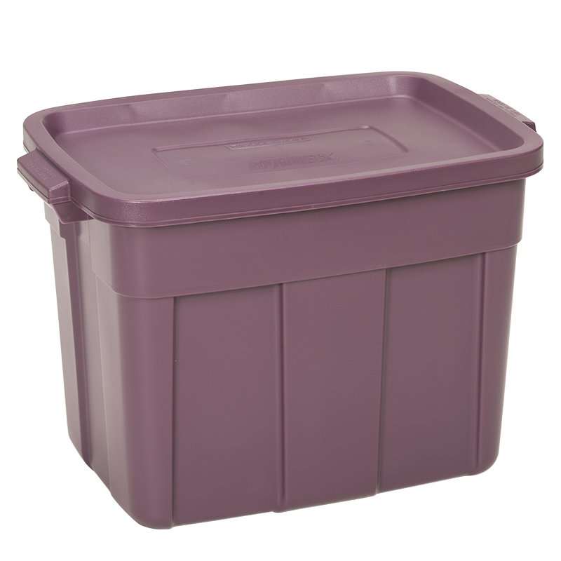 Rubbermaid Roughneck Storage Container - Plum - 68L
