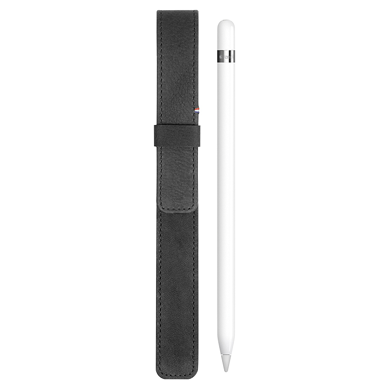 Decoded Leather Apple Pencil Case - Black - DC-D6APS1BK
