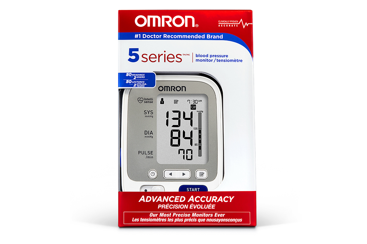 Omron Blood Pressure Monitor Series 5 - BP742CAN