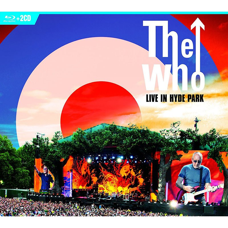 The Who Hits 50: Live in Hyde Park - Blu-ray + 2 CD
