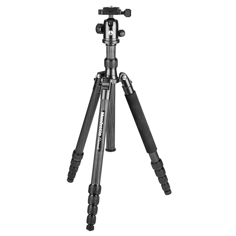 Manfrotto Element Traveller Big Tripod with Ball Head - Black - MKELEB5CF-BH