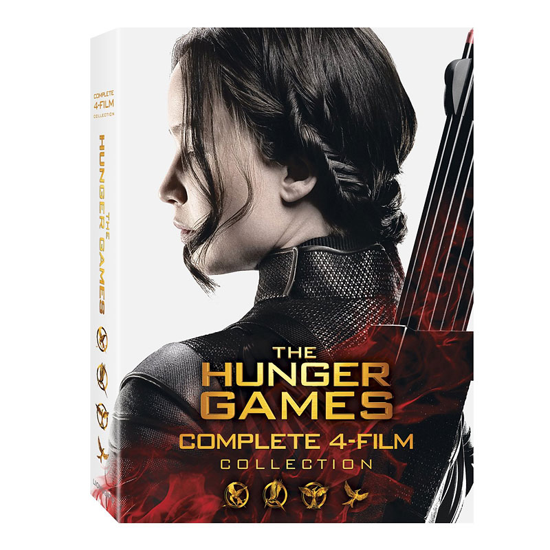 The Hunger Games: The Complete 4-Film Collection - Blu-ray