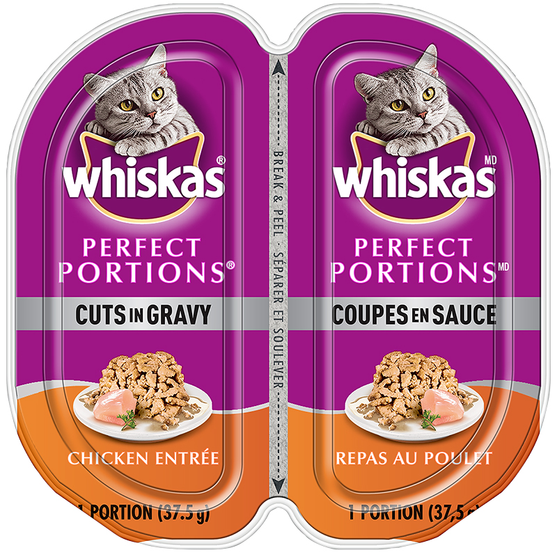 Whiskas Perfect Portion - Chicken Entrée - 2 x 37.5g