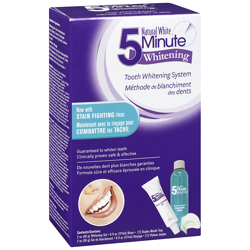 Natural White 5 Minute Whitening System