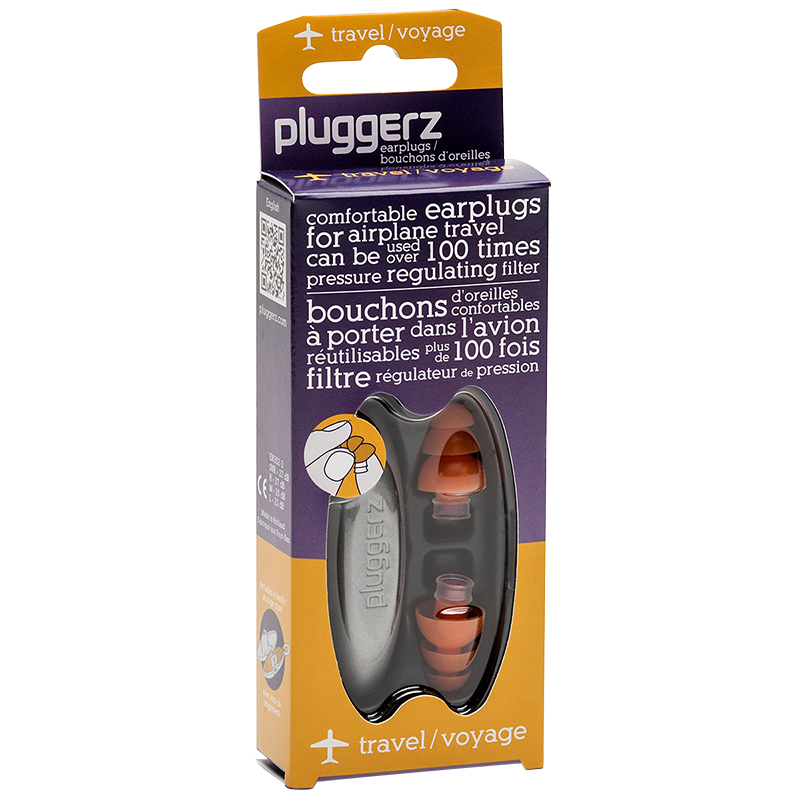 Pluggerz Ear Plugs with Case - Travel
