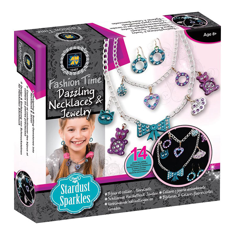 Fashion Time Dazzling Jewelry Making Kit - Stardust Sparkles