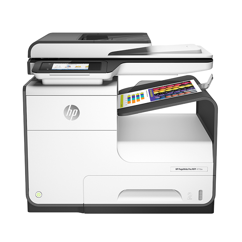 HP PageWide Pro 477DW Multifunction Printer - White - D3Q20A#B1H