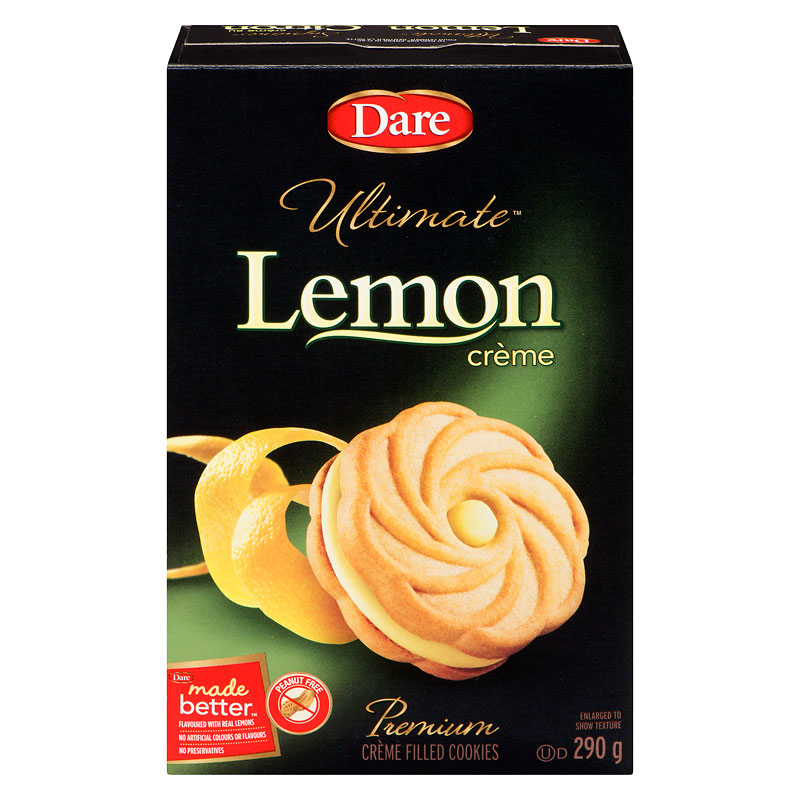 Dare Ultimate Lemon Creme Cookies - 290g