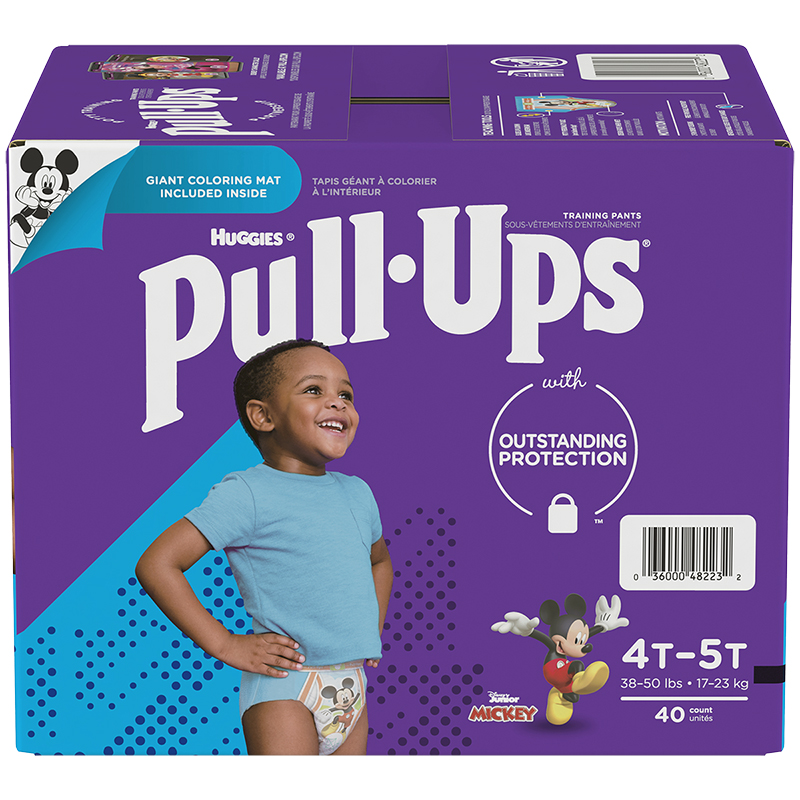 Pull-Ups Learning Designs Training Pants - Boys - Size 4T-5T - 40's