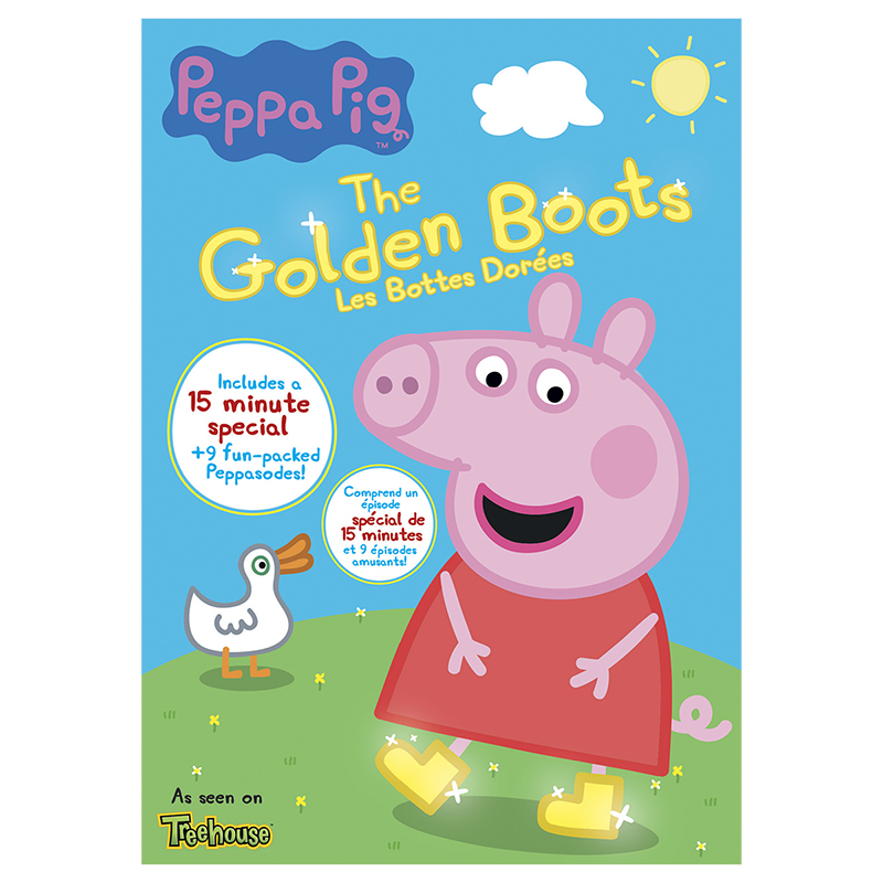 Peppa Pig The Golden Boots Dvd London Drugs