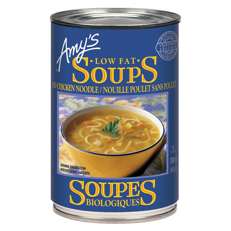 Amy's No Chicken Noodle Soup - 398ml