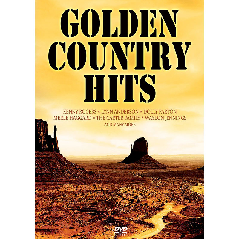 Various Artists - Golden Country Hits - DVD