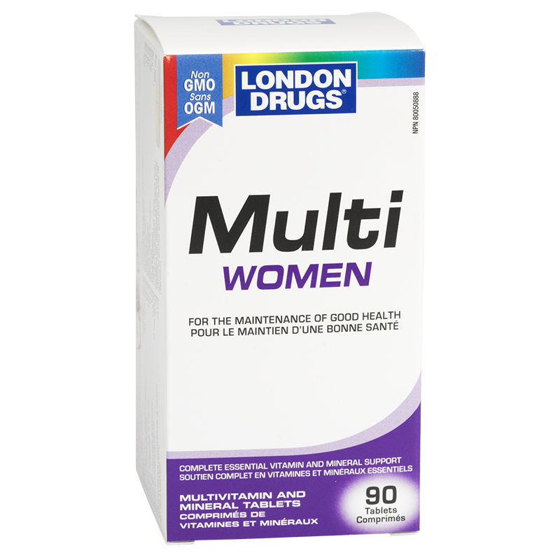 London Drugs Multi Women Multivitamin & Mineral Tablets - 90's